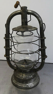 vintage kerosene lamp Laterne original DDR Petroleumlampe FROWO 520 made in GDR