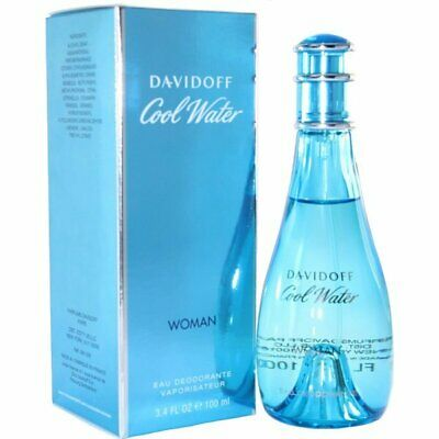 Cool Water Deodorant Spray 100Ml By Davidoff For Women's Coolwater Davidoff