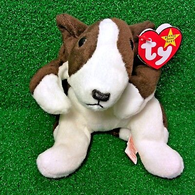 814b5b19aec NEW Ty Beanie Baby Bruno The Terrier Dog 1997 Rare PVC Plush Toy - MWMT