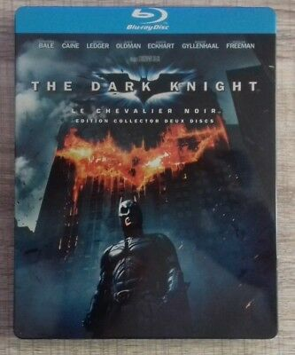 Blu ray  The Dark Knight STEELBOOK COLLECTOR fr