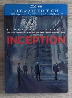 Blu ray Inception EDITION STEELBOOK COLLECTOR fr
