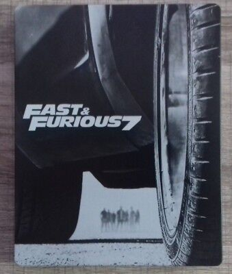 Blu ray Fast and Furious 7 EDITION STEELBOOK COLLECTOR fr