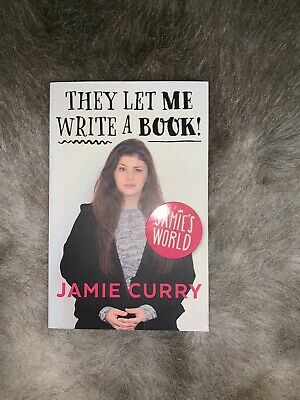 The Let Me Write A Book - Jamie Curry. Youtuber/social Media Personality Book