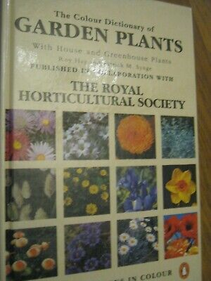 royal horticultural society RHS colour dictionary of garden plants flowers