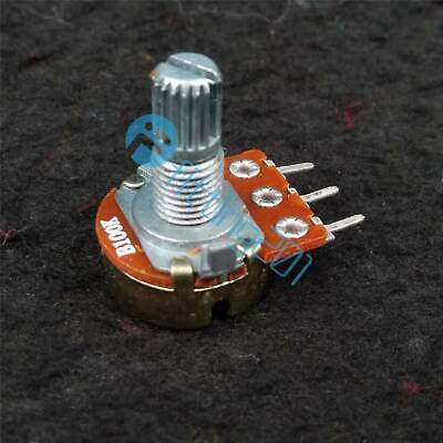 2PCS OHM Linear Taper Potentiometer Pot B50K RD1480-01B 15mm 50K
