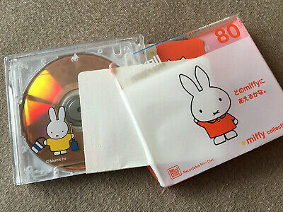 MD MAXELL MIFFY COLLECTION 80 in OVP-Folie Japan Minidisc