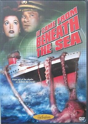 It Came From Beneath The Sea (1955) Kenneth Tobey, Classic Sci-Fi, Region 1, DVD