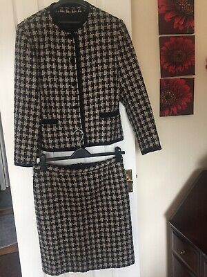 Vintage 90's Next Collection Wool Suit - Size 12