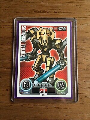 Topps Force Attax Lego Star Wars L73 General Grievous Rare Card