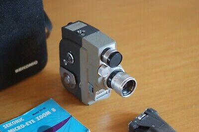Sekonic Micro-eye zoom 8mm Camera with Case, Made in Japan, Rare, Good Condition