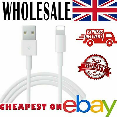 for iPHONE- USB  Cable  Lead Charger *Wholesale Bulk Job lot*
