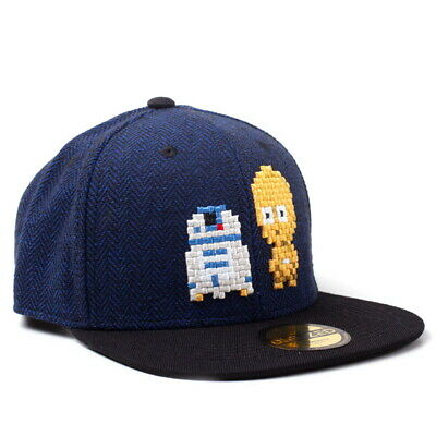 OFFICIAL Star Wars R2-D2 and C-3PO Baseball Cap Snapback Hat (NEW)
