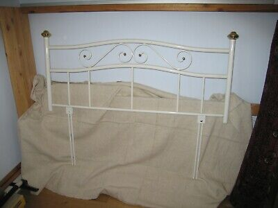 Attractive Double Bed Headboard - 1970s Style