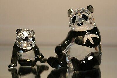 Swarovski Crystal SCS Annual Edition 2008 Pandas Endangered Wildlife 900918