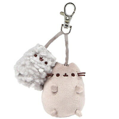 OFFICIAL GUND Pusheen the Cat & Stormy Deluxe Plush Backpack Clip 4060820 (NEW)