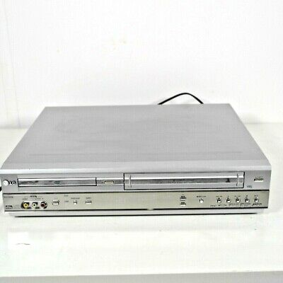 LG DV1000 DVD Player VHS VCR. Records To Video Not DVD. Combo Player Recorder.