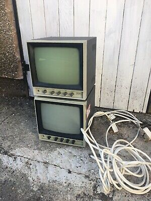 Sony PVM90CE 9' CCTV Style Television Prop X2