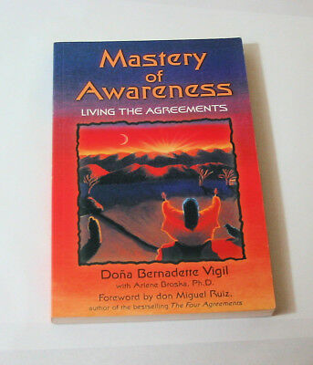 Mastery of Awareness : Living the Agreements by Doña Bernadette Vigil (2001, Pap