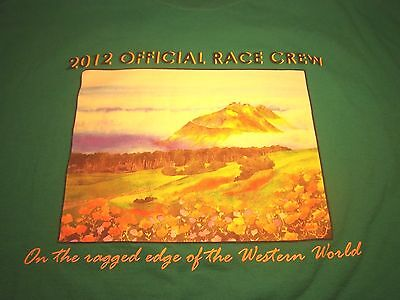 Big Sur Intl Marathon 2012 Men's S T-Shirt California Official Race Crew