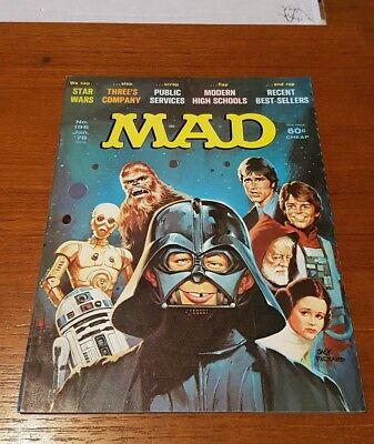 Mad Magazine 196 Star Wars