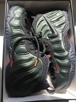 59369e0785f6a NIKE MEN S Air Foamposite Pro Sequoia Black Basketball Size 12 624041 304  Air