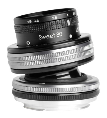 Lensbaby Composer Pro II incl. Sweet 80 Optic Canon EF NEW