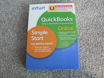*NEW* Intuit Quickbooks Online Simple Start for PC MAC FREE SHIPPING