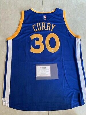 e101b5169fce STEPHEN STEPH CURRY Signed Autographed Jersey Golden State Warriors ...