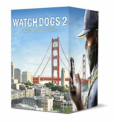 Watch Dogs 2 San Francisco Collectors Edition For Sony Ps4 New
