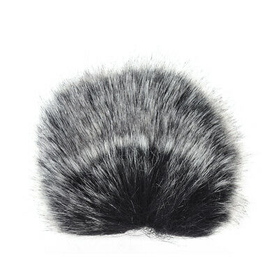 S Size Microphone Mic Furry Windscreen Windshield Cover Muff for SHENGGU HG K2P7