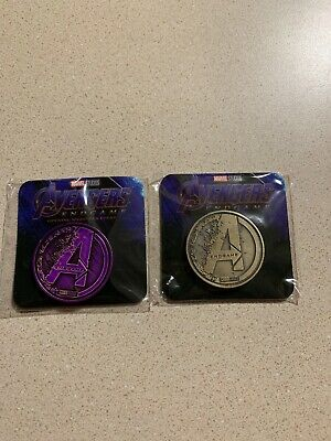 Avengers Endgame Opening Night Fan Event Collectible Coins Regal + BONUS