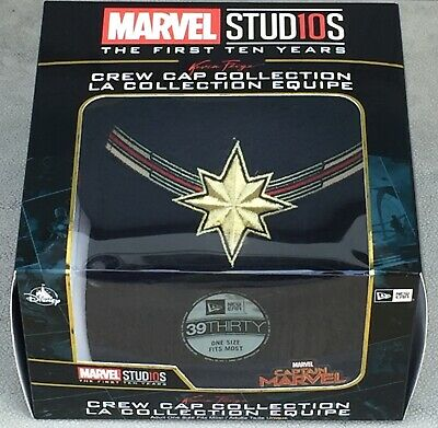 Captain Marvel - New Era Crew Cap Collection Kevin Feige Limited Edition New