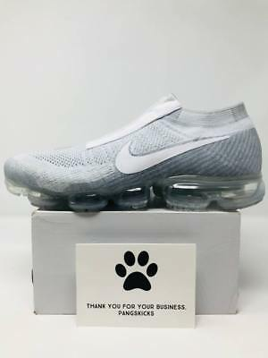 ef82e1d7c20 NIKE AIR VAPORMAX SE LACELESS FLYKNIT TRIPLE BLACK off white max 9.5 ...