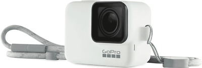NEW GoPro ACSST-002 Sleeve & Lanyard - White