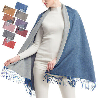 Cashmere Scarf Blanket Large Soft Pashmina Shawl Stole Wrap For Men and Women