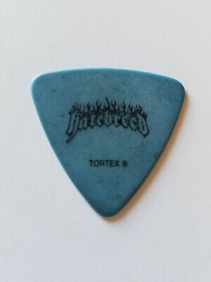 HATEBREED 2008 Supremacy Jagermeister Monster Stage Used Tour Issued Guitar Pick