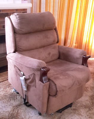 Lounge chair - Ergonomic, can recline and lift. Excellent condition.