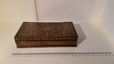 (lot 222 ) Antique Tunbridge Ware Box