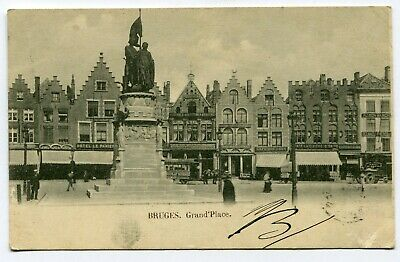 CPA - Carte Postale - Belgique - Bruges - Grand place - 1901 (M8348)