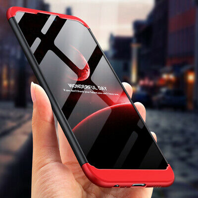 For Huawei Y6 Y7 Pro Y9 (2019), Shockproof Hybrid Armor 3 in1 Hard PC Case Cover