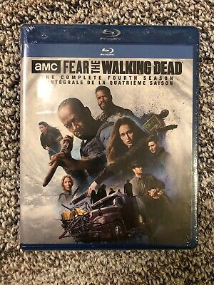 AMC Fear the Walking Dead Season 4 Blu Ray Fourth Four Complete Canadian SEALED
