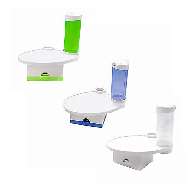 New Dental Chair Unit Accessories Parts Mounted Tray with Tissue Box Cup Holder