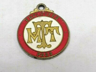 Mtt Municipal Tramways Trust Employee Pass