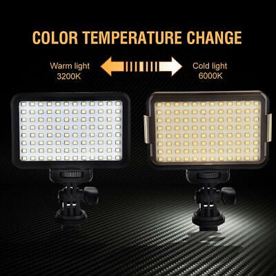 PAD96 Plastic LED Video Light 12W Dimmable Fill Light Studio Camera Photography
