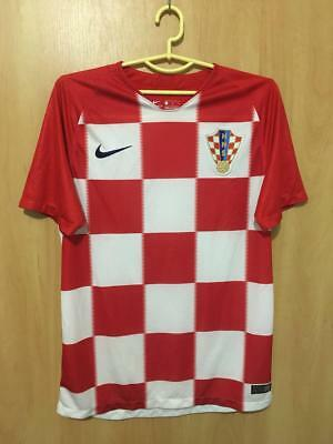 Croatia National Team 2018/2019 World Cup Russia Home Football Shirt Jersey Nike