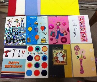 GREETING CARDS......job lot....mixed...birthday.....WHOLESALE