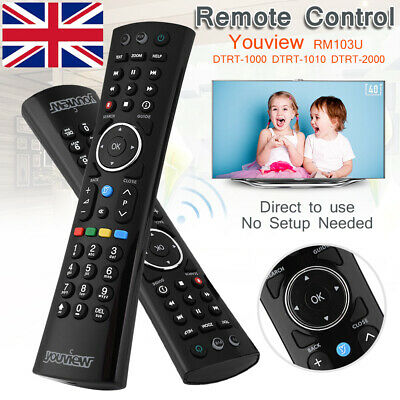 Genuine Original Humax Youview Remote Control For DTR-T2000 DTR-T1000 DTR-T1010