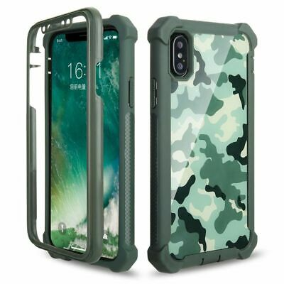 Phone Cover iPhone 8 XS Max XR X Protection Doom armor Soft TPU Shock Proof Case