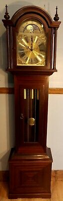 Grandfather Clock-Exc Cond/New Hermle Wchime/NATIONWIDE PERSONAL DELIVERIES