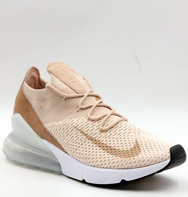 the best attitude 83a38 419bb NIKE AIR MAX 270 Flyknit Guava Ice Particle Beige Women US 9.5 AH6803-801